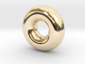 Cute candy RING in 14k Gold Plated Brass