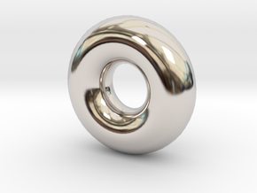 Cute candy RING in Rhodium Plated Brass