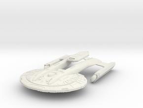 Akira Class Refit II in White Natural Versatile Plastic