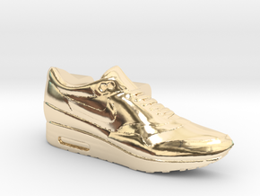 Nike Air Max 1 Lacelock (1 piece) in 14K Yellow Gold
