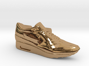 Nike Air Max 1 Lacelock (1 piece) in Polished Brass