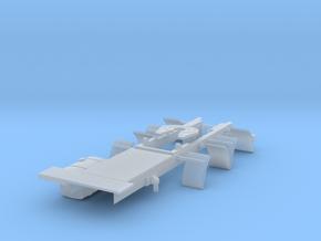 Zetros Aufbau Sattelzugmaschine Lang in Frosted Ultra Detail