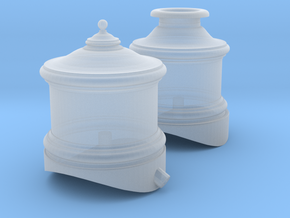 Cooke 2-6-0 Domes - Sn3 in Smoothest Fine Detail Plastic