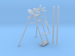 Drill Rod Holder and Stand 1:6 in Smooth Fine Detail Plastic
