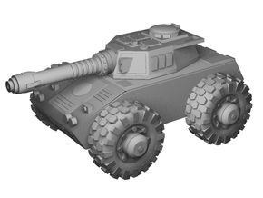 1/100 Wheeled Tiran tank in Smooth Fine Detail Plastic