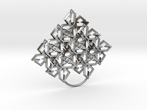 Pattern Dimond in Premium Silver