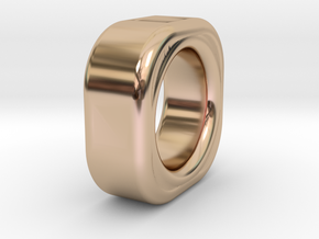 Qubyk 16size in 14k Rose Gold Plated