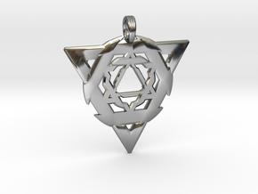 GEO-TRINITY in Premium Silver