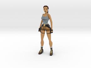 Lara Retro - 100mm in Full Color Sandstone