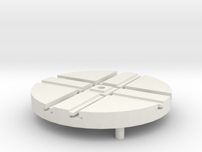 T-65-wagon-turntable-36d-75-1a in White Strong & Flexible