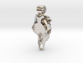 Boss Taurus in Rhodium Plated Brass