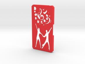 Sony Xperia Z2 Paso Doble in Red Processed Versatile Plastic