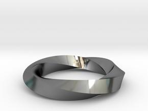 RingSwirl360 in Premium Silver