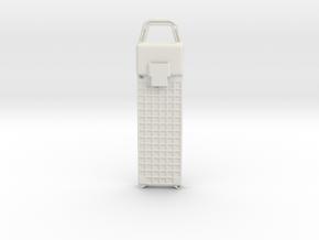 LiPo Case Ac in White Natural Versatile Plastic