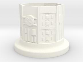 KR Inner Core V4 in White Processed Versatile Plastic