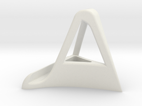 IPad Stand in White Natural Versatile Plastic