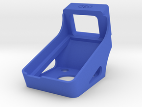 Holder for Mobius and Runcam HD (20  Degree) in Blue Processed Versatile Plastic