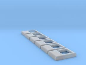 SD40-2 / F45 Winterization Hatch (N - 1:160) 6X in Smoothest Fine Detail Plastic