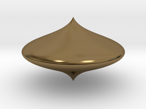 Bell shape scopperil in Polished Bronze