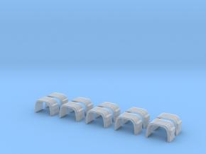 Kotflügel Mit Rückleuchtenhalter 5 Stck  in Smooth Fine Detail Plastic