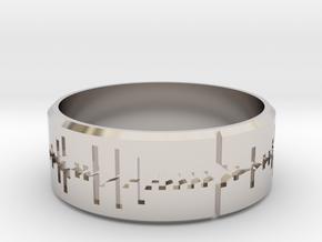 Amen, Brother - Amen Break Ring (size R 1/2)  in Platinum
