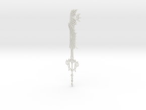 Keyblades Ultima: Kai Arts Figure Size in White Natural Versatile Plastic