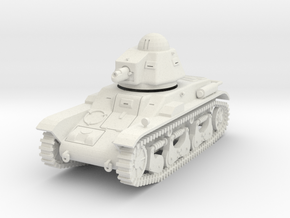 PV87A Renault R35 Light Tank (28mm) in White Natural Versatile Plastic