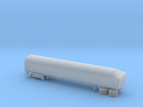 1/160  Coverd Wagon Semi Trailer in Frosted Ultra Detail