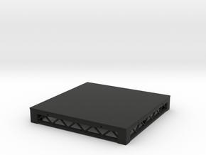 1:25 Platform 4x4 in Black Natural Versatile Plastic
