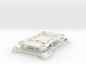 Omnimac Pixhawk Mount V1.1 (Tarot T810 Mounting) in White Natural Versatile Plastic