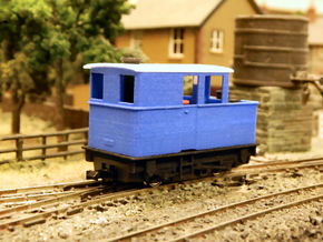 009 Sentinel (Single Window Cab) - Part 4a in Blue Strong & Flexible Polished