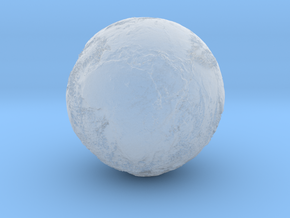 Earth Seabed in Smooth Fine Detail Plastic