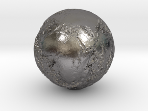 Earth Seabed in Polished Nickel Steel