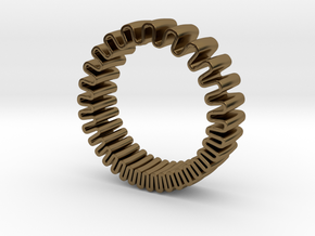 MYTO // Mitochondria Ring in Polished Bronze