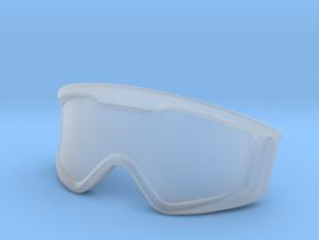 WW10005 Wild Willy Moto Goggles in Transparent Acrylic