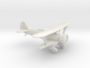 1/120 Henschel HS123 in White Natural Versatile Plastic