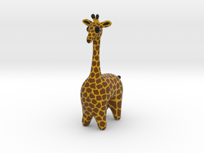 Giraffe in Full Color Sandstone