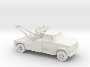 1/87 1966 Chevrolet Wrecker in White Strong & Flexible