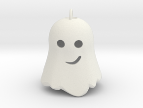 Little Ghostie pendant 2 in White Natural Versatile Plastic