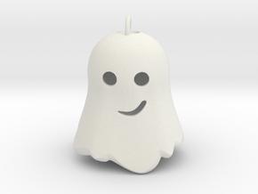 Little Ghostie pendant 2 in White Natural Versatile Plastic