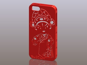 iPhone5_The Chinese Style--Traditional Opera 10 in Red Processed Versatile Plastic