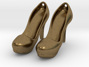 Modern Heels - Style 2 size 2 in Natural Bronze
