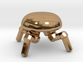 Spider Drone  in Polished Brass