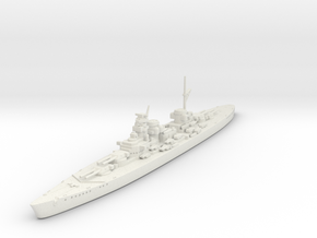 1/1800 KM H-44 Class BB in White Natural Versatile Plastic