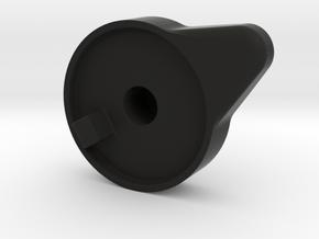 Lockout Handle in Black Natural Versatile Plastic