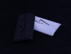 GALA Mod Rear(Battery) Cover in Black Natural Versatile Plastic