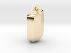 Secret Pedant in 14K Yellow Gold