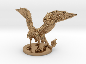 Griffon Miniature in Polished Brass