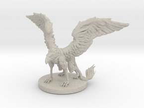 Griffon Miniature in Natural Sandstone