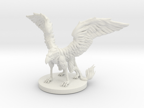 Griffon Miniature in White Strong & Flexible